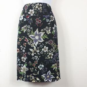 Reitmans, A-Line Sz 13, Floral Skirt